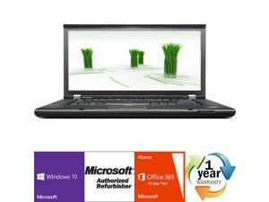 "Lenovo Thinkpad T510 Intel i5 Dual Core 2400 MHz 160Gig Serial ATA 2048mb DVD ROM 15.0"" WideScreen LCD Windows 10 Home 32 Bit Laptop Notebook"