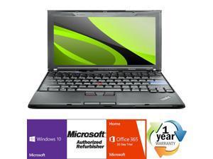 "Lenovo Thinkpad X201 Intel i5 Dual Core 2400 MHz 160Gig Serial ATA 2048mb NO OPTICAL DRIVE 12.0"" WideScreen LCD Windows 10 Home 32 Bit Laptop Notebook"