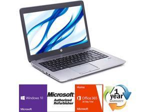 "HP EliteBook 840 G1 Intel i7 Dual Core 2100 MHz 128Gig SSD 16384 NO OPTICAL DRIVE 14.0"" WideScreen LCD Windows 10 Professional 64 Bit Laptop Notebook"