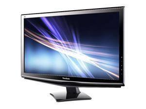 """Viewsonic VA2448M-LED 1920 x 1080 Resolution 24"""" WideScreen LCD Flat Panel Computer Monitor Display Scratch and Dent"""