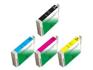 4 Epson WorkForce 1100 Ink Cartridges Combo Pack (compatible)