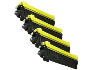 Superb Choice® Compatible Toner Cartridge for BROTHER HL-3040CN HL-3045CN HL-3070CW HL-3075CW (Black+Cyan+Yellow+Magenta pack)