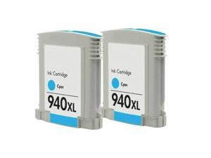 Superb Choice® Remanufactured ink Cartridge for HP 940XL use in OfficeJet Pro 8500A Plus e-All-in-One Printer - A910g, 8500A e-All-in-One Printer - A910a(Pack of 2 Cyan)