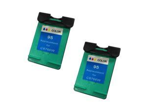 Superb Choice® Remanufactured ink Cartridge for HP Photosmart 7850 8150 8150v 8150xi(pack of 2 Color)