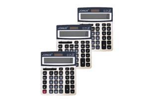 JOINUS JS-779A Dual Power 12 Digit Calculator (Pack of 3)
