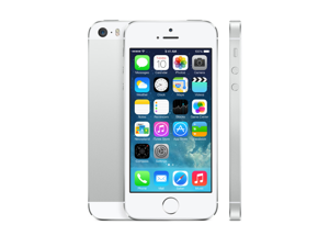 Apple iPhone 5s 16GB (ME297LL/A) GSM Unlocked White/Silver - Fair Condition