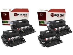 Laser Tek Services ® HP CC364X (64X) 4 pack of High Yield Compatible Replacement Toner Cartridges