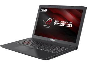 Asus 15.6'' Intel Core i7-6700HQ 2.6GHz 16GB DDR4 1TB HDD DVD RW USB3.1 Windows 10 Metallic Notebook Model GL552VW-DH71