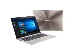 ASUS 13.3'' Zenbook Intel Core i7-6500U 2.5GHz 12GB DDR3L 512GB SSD USB 3.0 Touchscreen Windows 10 Smokey Brown Ultrabook Model UX303UB-DH74T