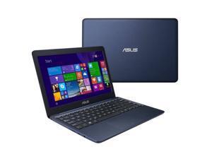 ASUS 11.6'' Intel BayTrail-T Atom Z3735F 1.33GHz EeeBook 2GB DDR3L 32GB eMMC Windows 8.1 Professional Dark Blue Ultrabook Model X205TA-EDU