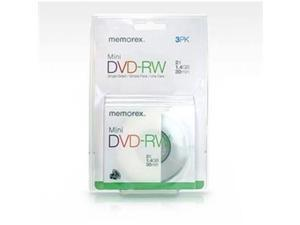 IMATION 05620 2x DVD-RW Media - 3 Pack in blister