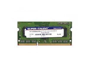 SUPER TALENT W1333SA2GS DDR3-1333 SODIMM 2GB256Mx8 Samsung Chip Notebook Memory