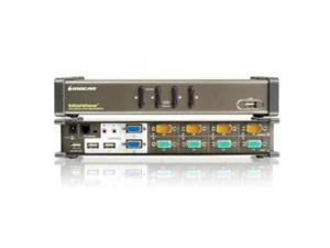 IOGEAR GCS1744 4-Port Dual View KVM Switch