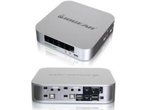 IOGEAR GCS1924 4-port DualView Mini DisplayPort KVMP Switch with Peripheral Sharing