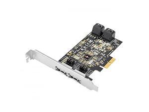 SIIG SC-SA0R11-S1 DP SATA 6Gb/s 4-Port Hybrid PCIe