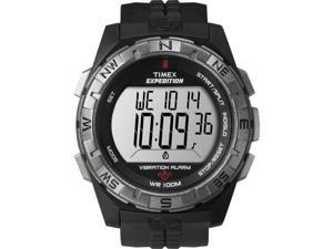 TIMEX T49851 Timex Expedition Vibrate Alert Watch - Full Size - Black