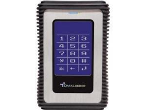 "DATA LOCKER DL1000V3 1 TB 2.5"" Encrypted External Hard Drive - 1 Pack - Box"