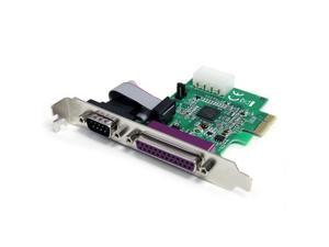 STARTECH.COM PEX1S1P952 1S1P Native PCI Express Parallel Serial Combo Card with 16950 UART