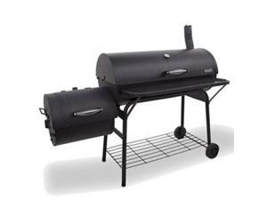 CHAR-BROIL 14201571 Offset Smoker 1280 with 670 sq. in. cooking surface