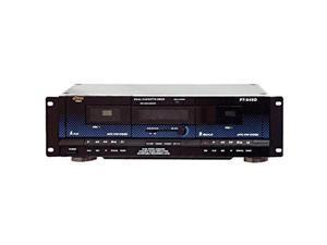 PYLE PT-649D PT649D Dual Cassette Deck