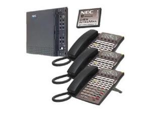 NEC NEC-1091026 KIT DSX40 and IntraMail and 3 34B Phones