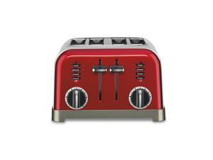 CONAIR CPT-180MR METAL CLASSIC 4-SLICE TOASTER METALLIC RED
