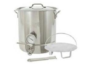 BARBOUR INTERNATIONAL 800-416 16 Gallon (64 Qt) Stainless Steel 6-piece Brew