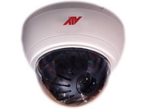 ATV FDP690A5W Camera, interior fixed dome, 690ETVL, PIXIM, TDN, WDR, 2.8-12mm, 12/24, white
