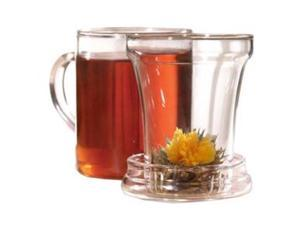 EPOCA PTA-3512 Primula Handblown Glass Tea Maker with Loose Tea Infuser