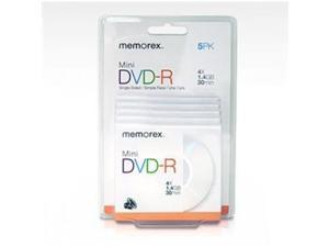 IMATION 05629 4x mini DVD-R Discs in 5 pack Blister