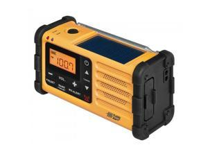 SANGEAN MMR-88 AM/FM/Weather/Handcrank/USB/Solar Emergency Alert Radio.