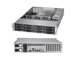 "SUPERMICRO SSG-6027R-E1R12T SuperStorage Server 6027R-E1R12T - Server - rack-mountable - 2U - 2-way - RAM 0 MB - SATA/SAS - hot-swap 3.5"" - no HDD - G200eW - GigE, 10 GigE"
