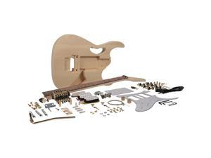 Seismic Audio - SADIYG-15 - Premium JEM Style DIY Electric Guitar Kit - Unfinished Luthier Project Guitar Kit