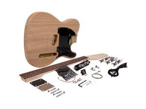 Seismic Audio - SADIYG-05 - Premium DIY Tele Classic Style Electric Guitar Kit - Unfinished Luthier Project Guitar Kit
