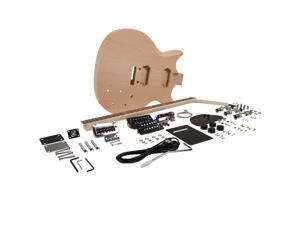 Seismic Audio - SADIYG-11 - Premium PRS Style DIY Electric Guitar Kit - Unfinished Luthier Project Guitar Kit