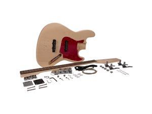 Seismic Audio - SADIYG-19 - DIY Vintage J Bass Style Electric Guitar Kit - Unfinished Luthier Project Guitar Kit