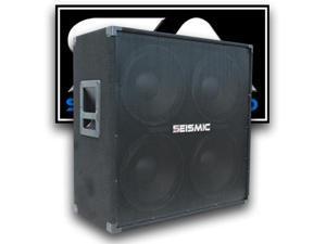 Seismic Audio - 4x12 Guitar Speaker Cabinet - 400 Watts RMS - 8 Ohm