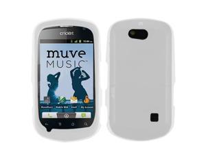 Translucent White Solid Silicone Skin Cover Case for ZTE Groove X501