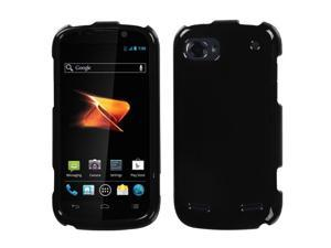 For N861 Warp Sequent Solid Black Hard Snap On Phone Protector Cover Case