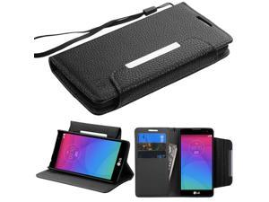 For RISIO, C40 Leon/H320 Black MyJacket Wallet Protector Cover Case
