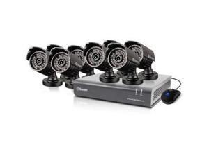 Swann DVR8-4400 - 8 Channel 720p Digital Video Recorder & 8 x PRO-735 Cameras