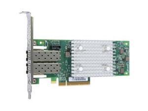 QLogic QLE2742 Dual-port Gen 6 Fibre Channel, Low Profile PCIe Card