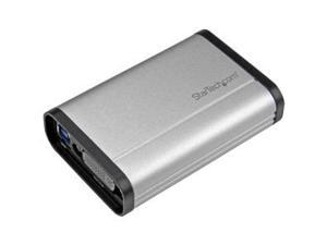 StarTech USB32DVCAPRO USB 3.0 Capture Device for High-Performance DVI Video - 1080p 60fps - Aluminum
