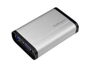 StarTech USB32VGCAPRO USB 3.0 Capture Device for High-Performance VGA Video - 1080p 60fps - Aluminum