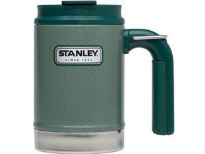 Stanley Classic 16oz Hammertone Green Vacuum Camp Mug 10-01693-001