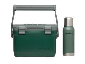 Stanley Adventure 7 Quart Cooler and Vacuum Bottle Combo