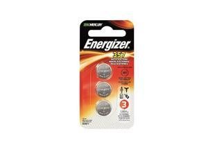 Energizer Silver Oxide 357 Watch Batteries 3-Pack 357BPZ-3N