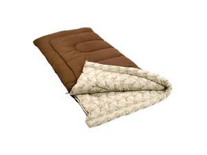 "Coleman Autumn Trails 81"" x 39"" Rectangle Sleeping Bag Brown 2000008860"