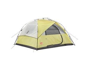Coleman Instant 7' x 7' Dome 3 Tent Yellow/Tan 2000015776