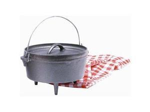 Texsport Cast Iron 4 Quart Dutch Oven With Legs 14503